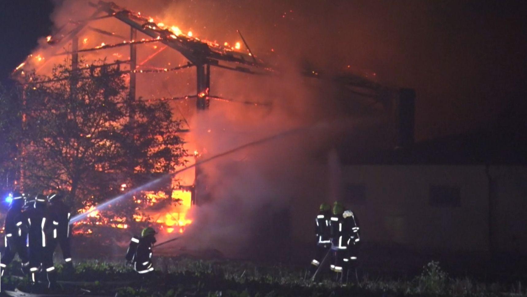 Brand in Sankt Veit, Pleinfeld