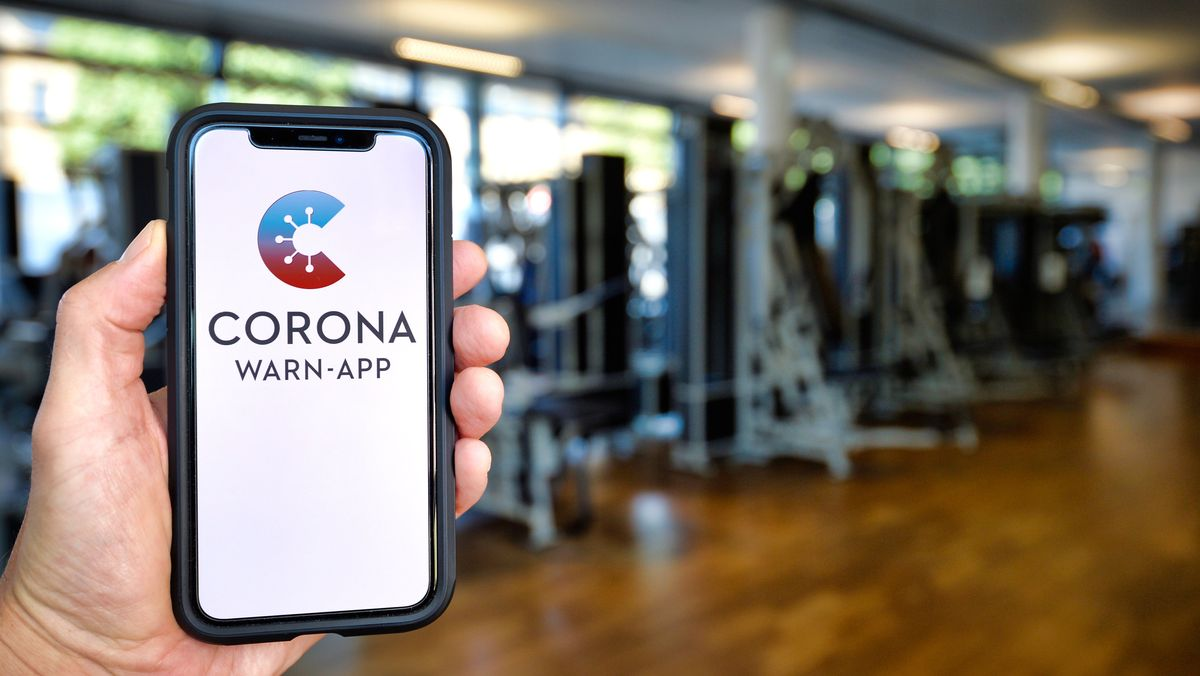 Corona-Warn-App auf Handy
