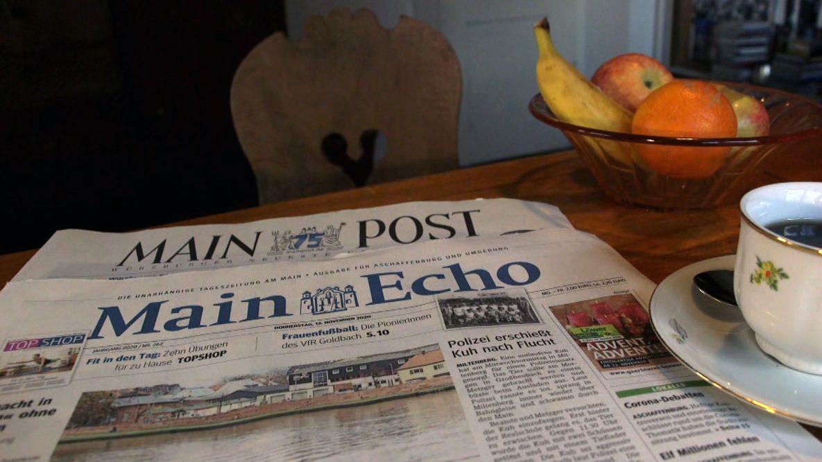 Main-Echo und Main-Post: 75 Jahre Zeitungsgeschichte