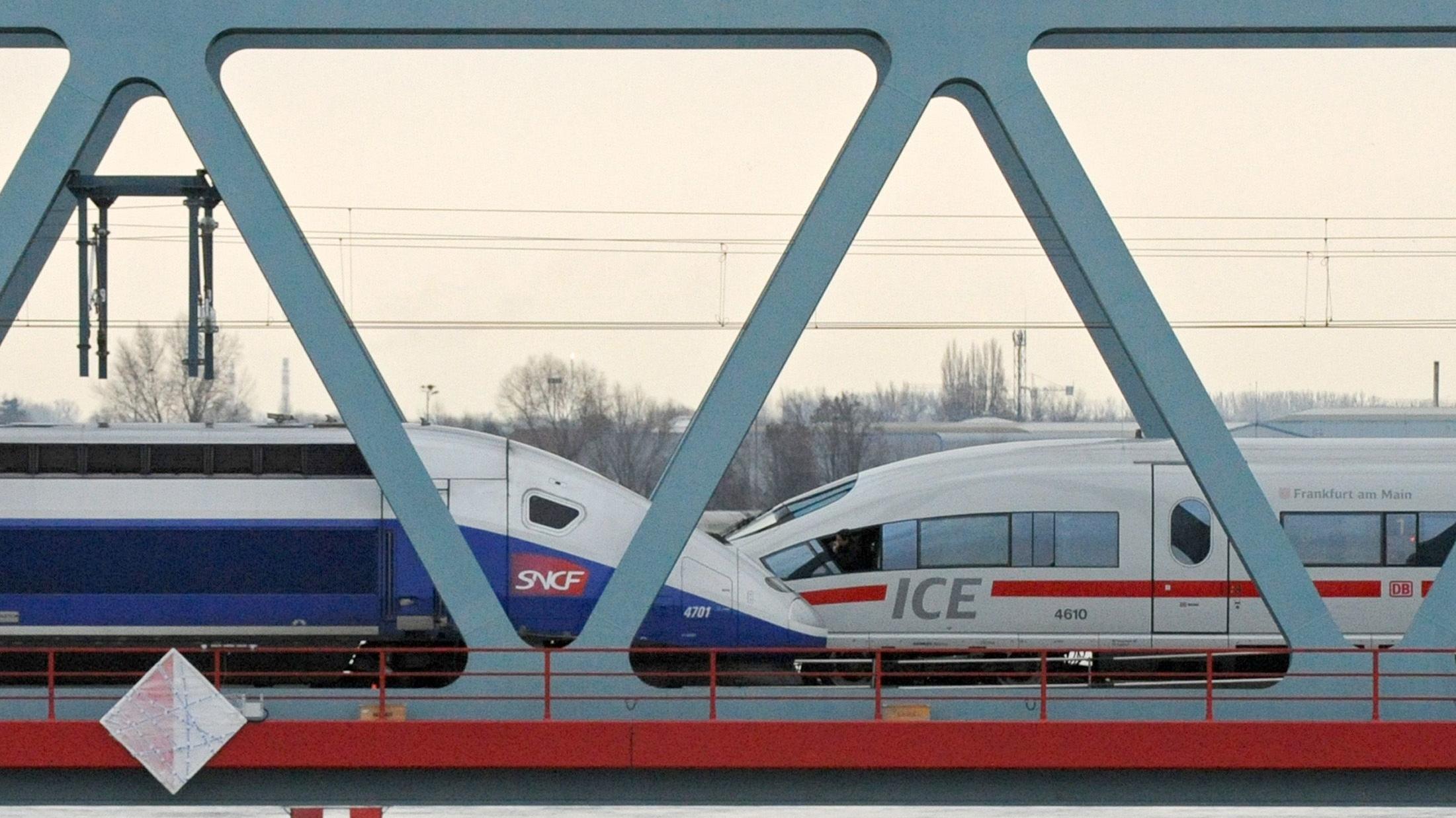 Symbolbild zur geplanten Fusion von Siemens und Alstom