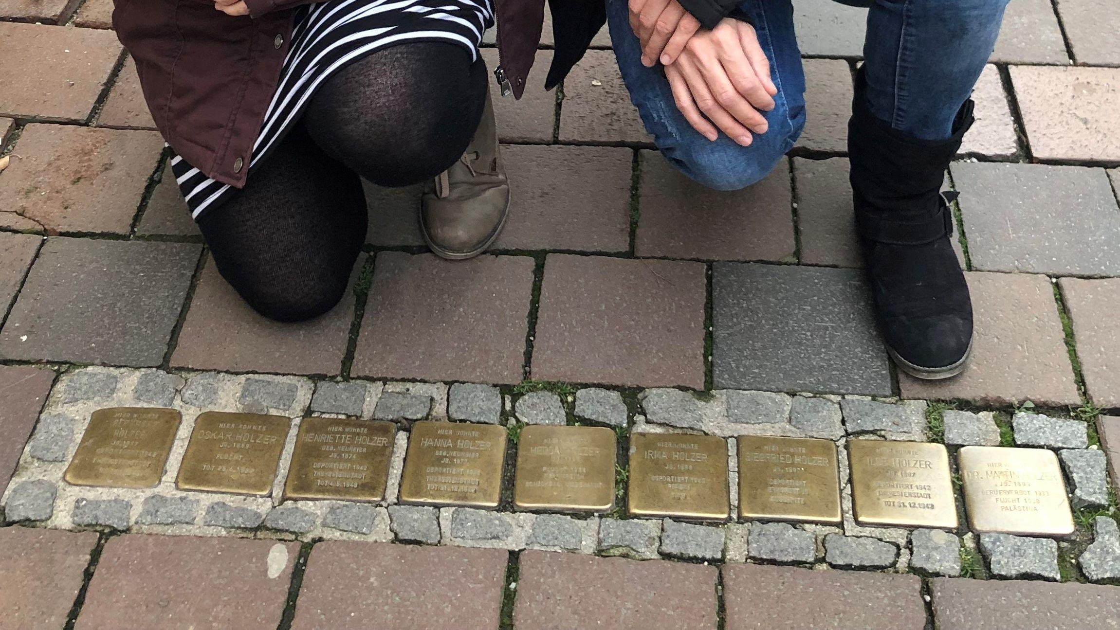 Freisinger Stolpersteine erinnern an ermordete Juden aus der eigenen Stadt