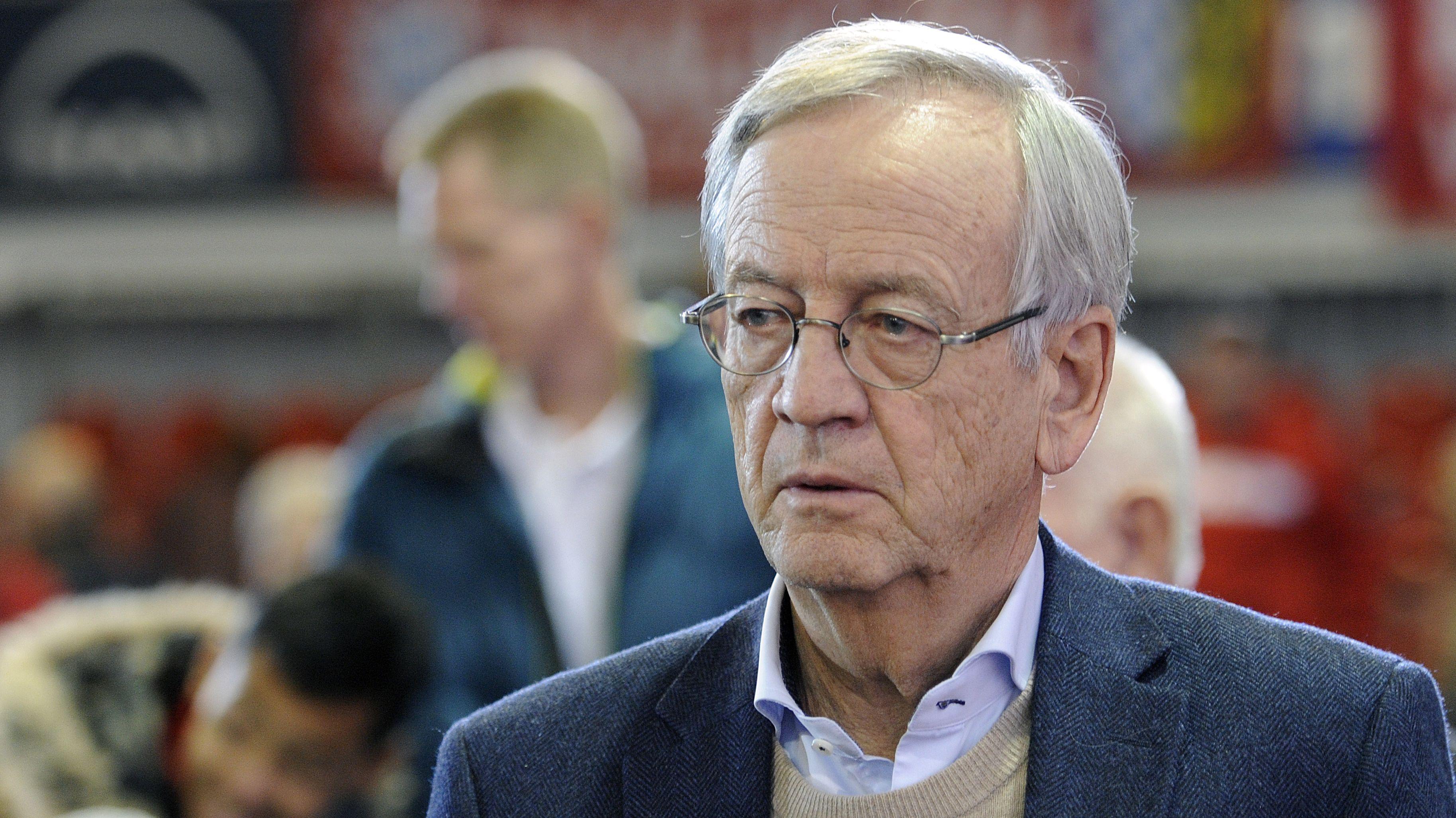 Ex-Siemens-Chef von Pierer auf einem Foto von 2016
