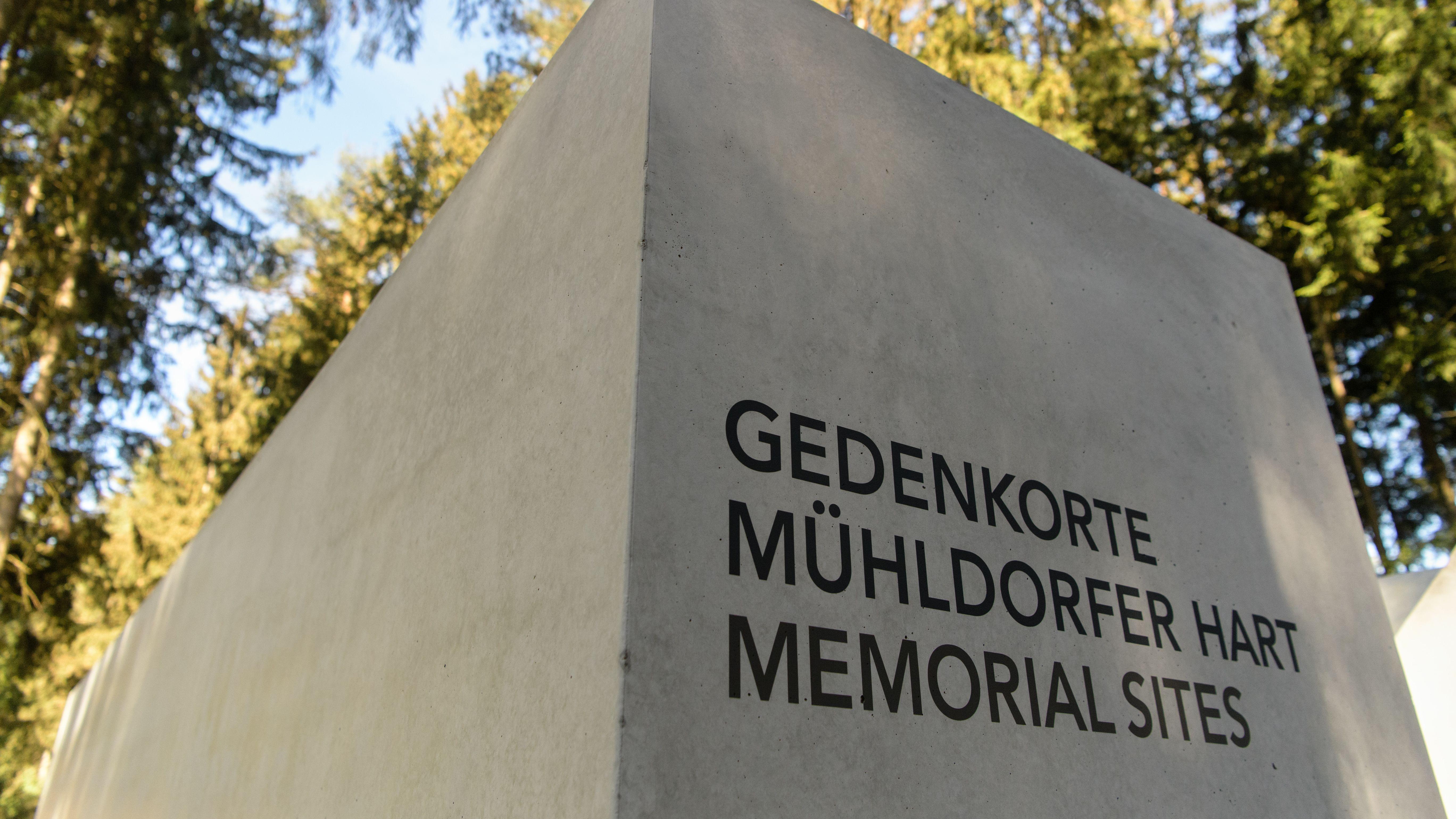 """Der Gedenkort """"Waldlager"""" an der KZ-Gedenkstätte der ehemaligen Mühldorfer KZ-Außenkommandos."""