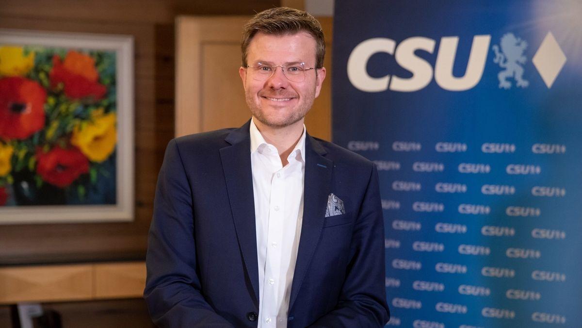 Nürnberger OB-Kandidat Marcus König von der CSU