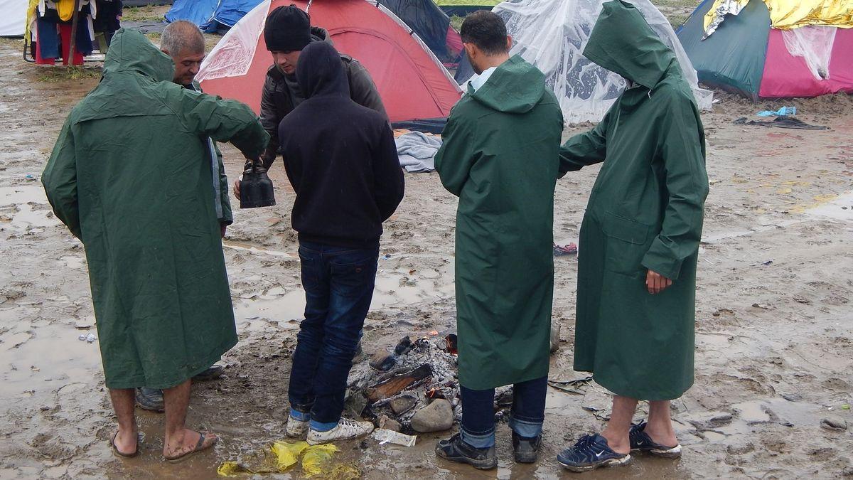 10. März 2016, Griechisches Flüchtlingslager Idomeni