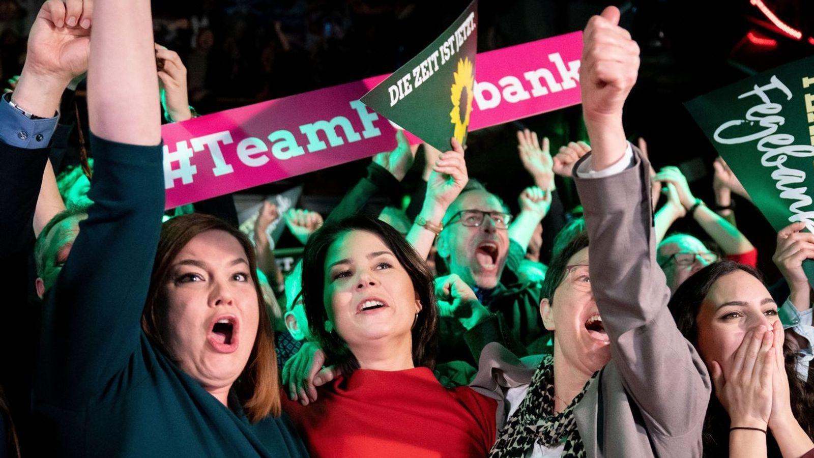 SPD in Hamburg vorne - deutlicher Sprung der Grünen