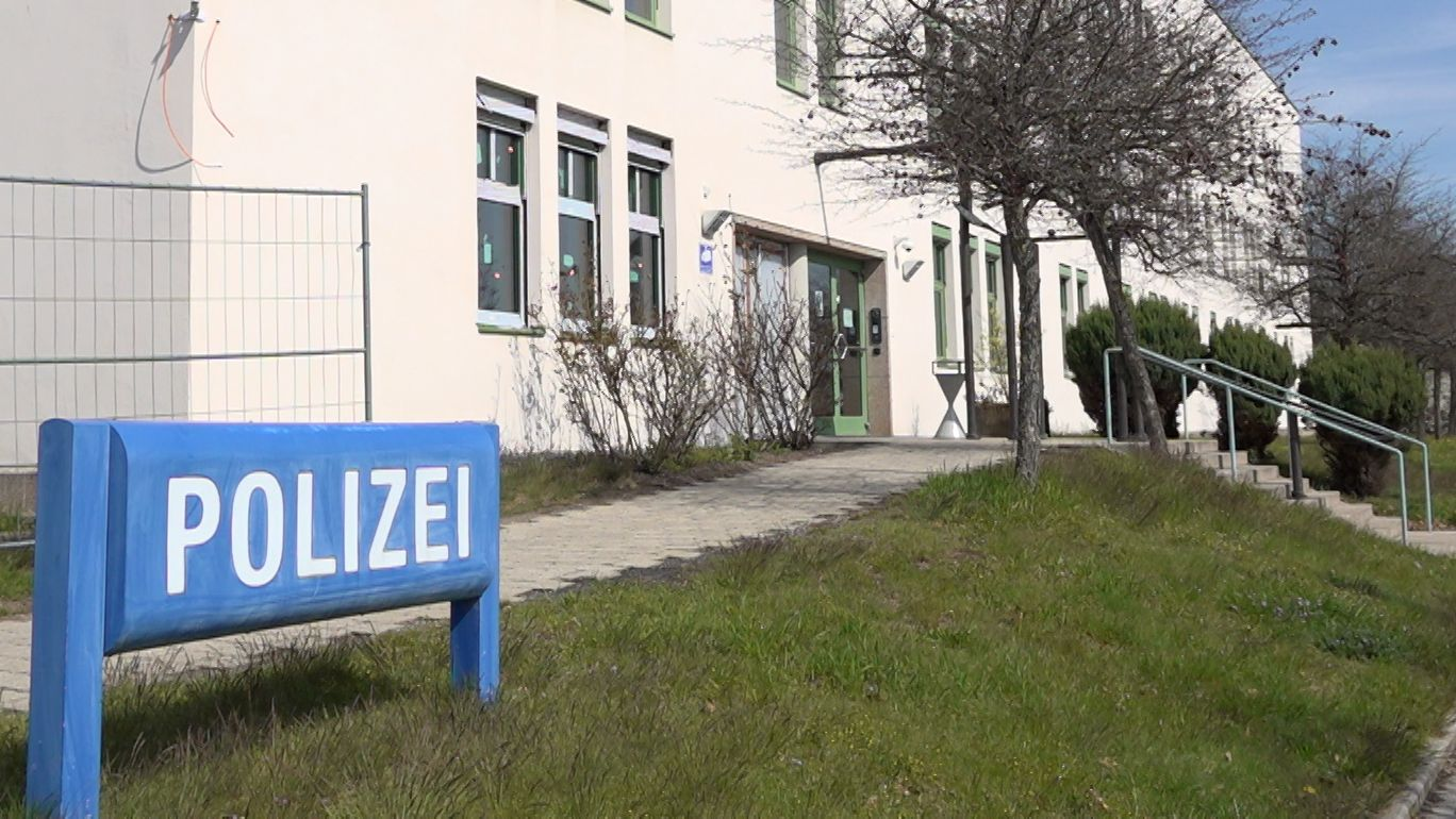 Die Polizeidienststelle in Weiden