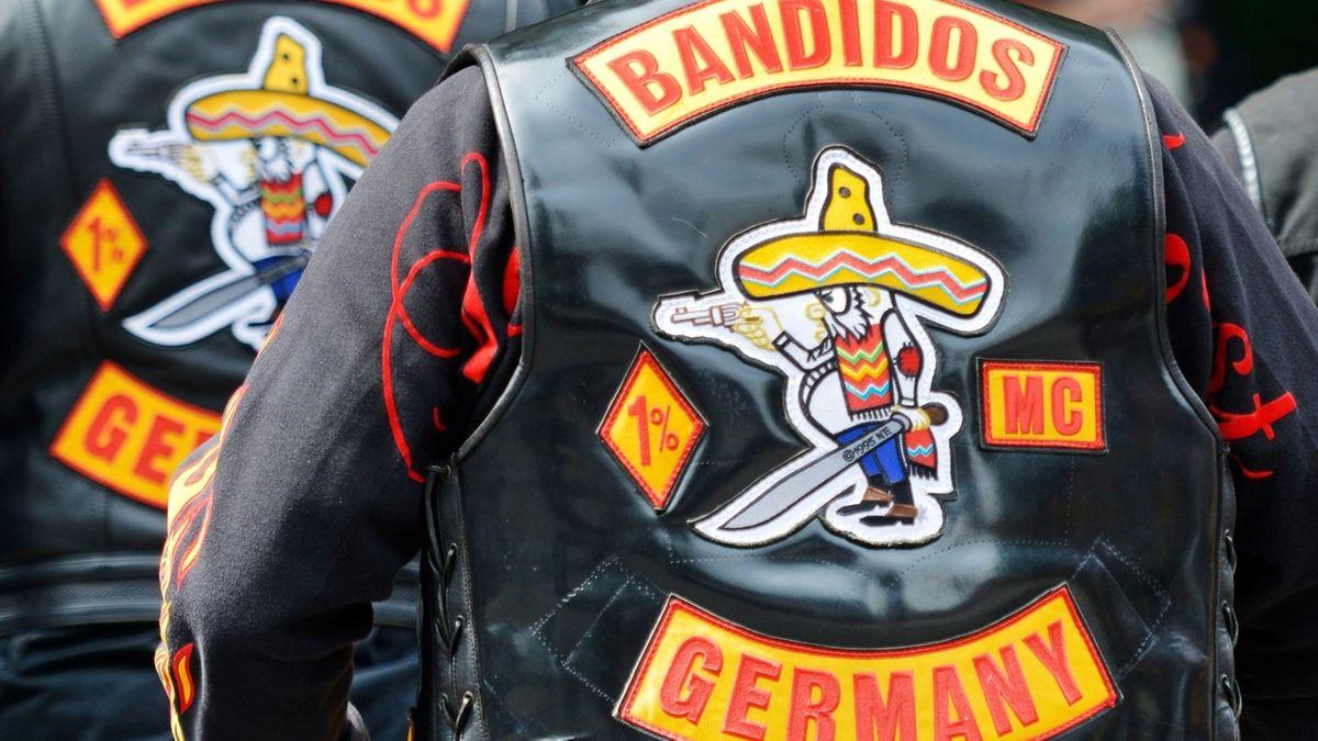 """Bandidos""-Rocker (Archivbild)"