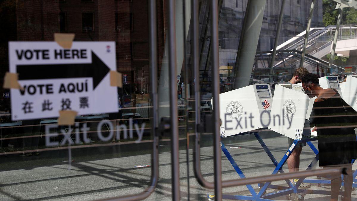"""""""Early voting"""": New York wählt einen neuen Bürgermeister."""