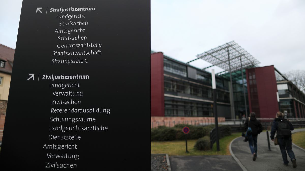 Landgericht in Würzburg