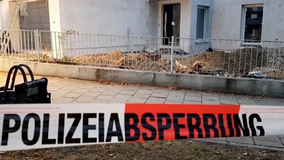 Fliegerbombe in Regensburg entdeckt   Bild:Bayerischer Rundfunk 2018