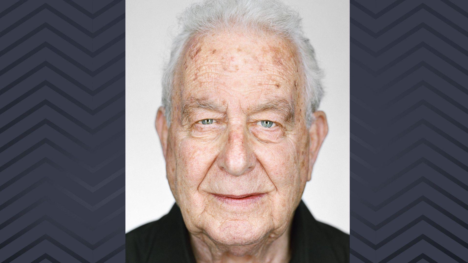 Porträtaufnahme des Holocaust-Überlebenden Naftali Fürst