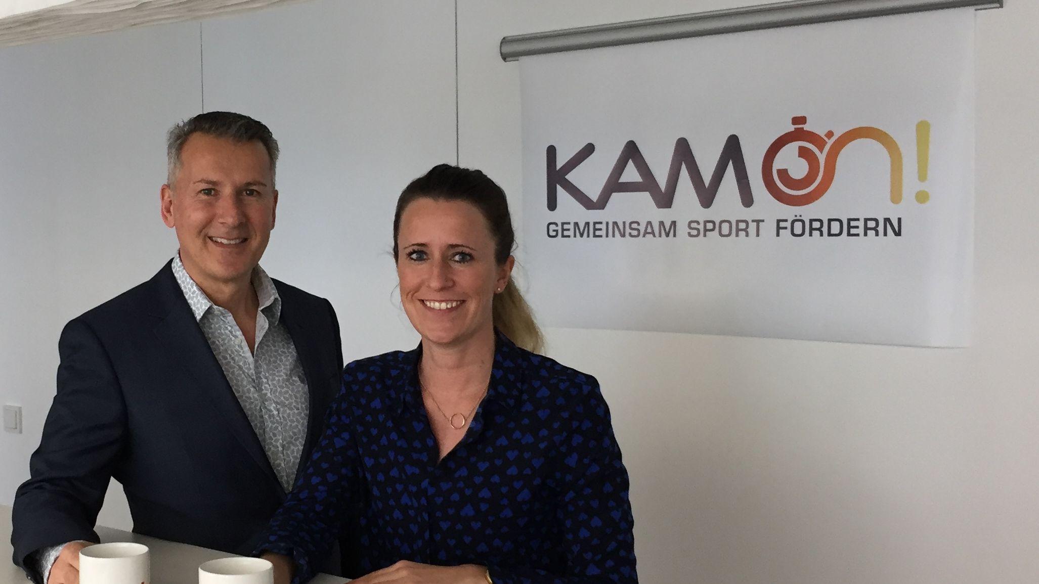 KAM-on-Gründer: Alex Jan Avedikjan und Kristina Kamper