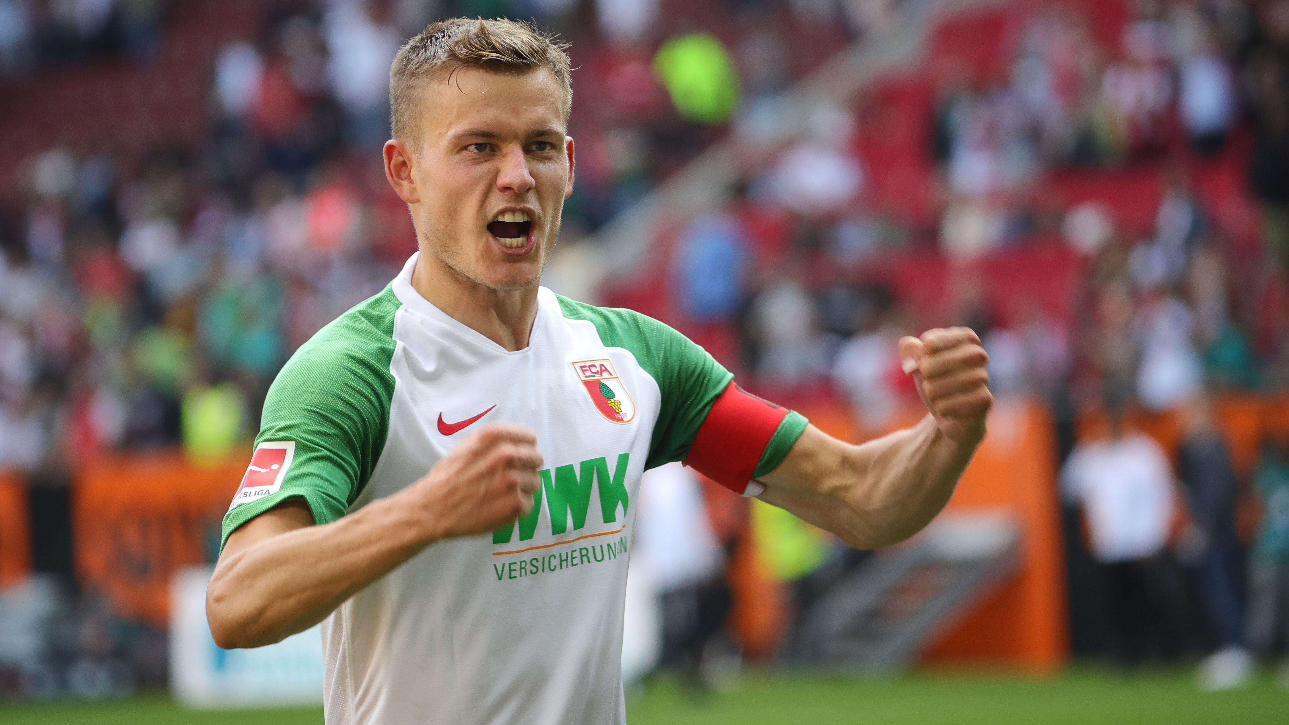 Alfred Finnbogason vom FC Augsburg