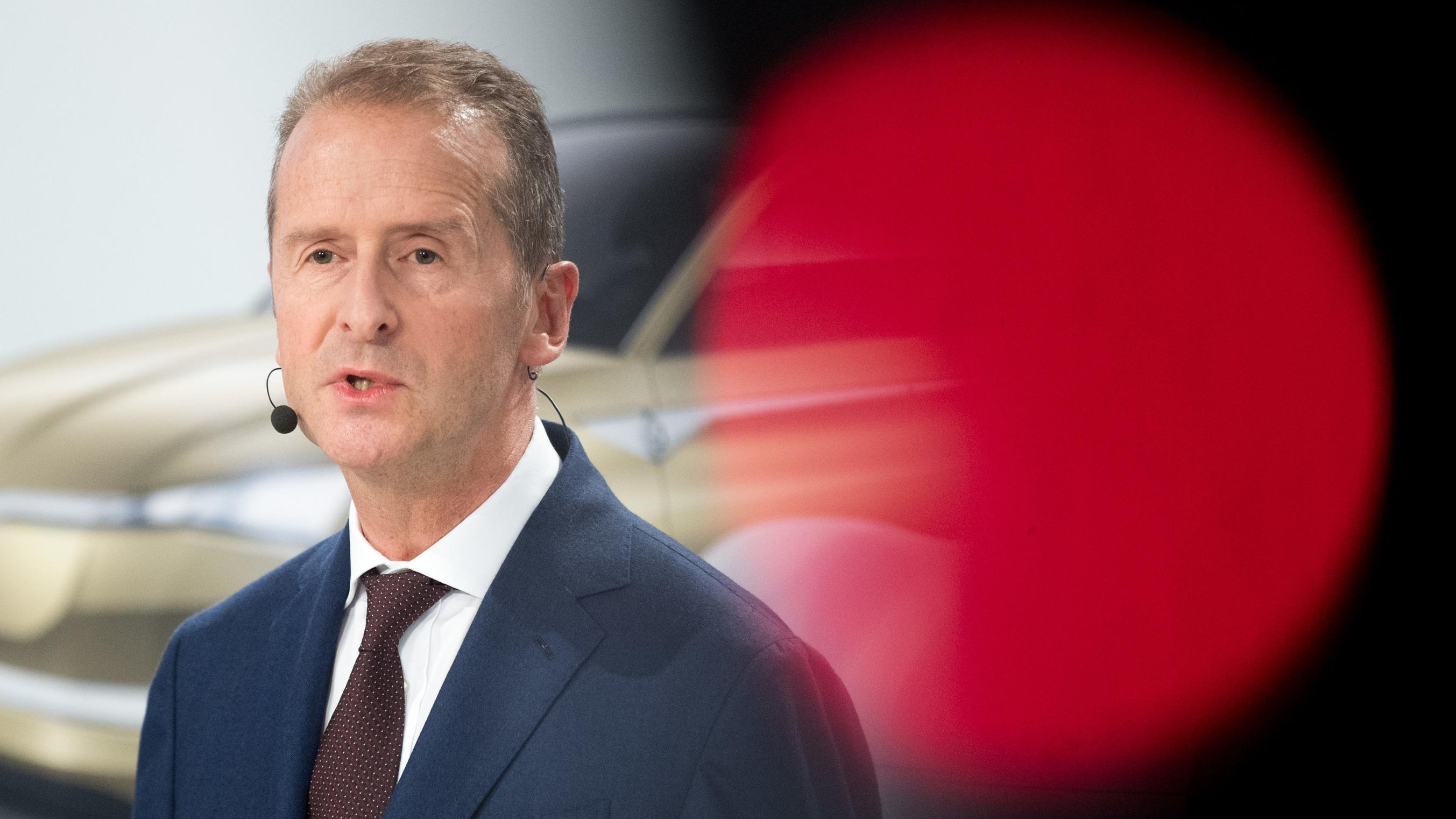 Herbert Diess, VW-Chef und Audi-Aufsichtsratsvorsitzender