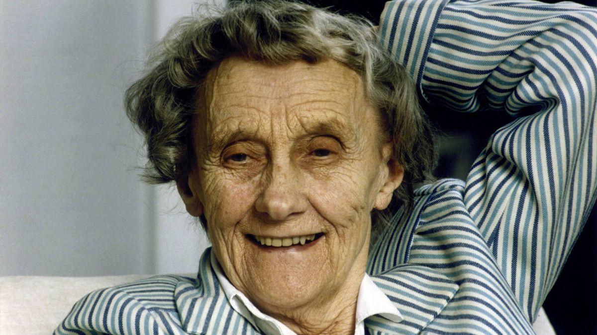 Astrid Lindgren, schwedische Kinderbuchautorin (verstorben 2002)