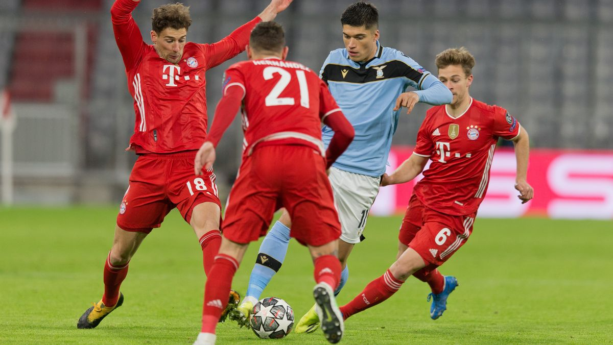 FC Bayern gegen Lazio