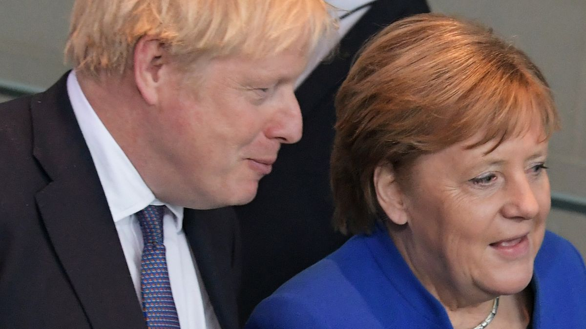 Johnson und Merkel (Archivbild)
