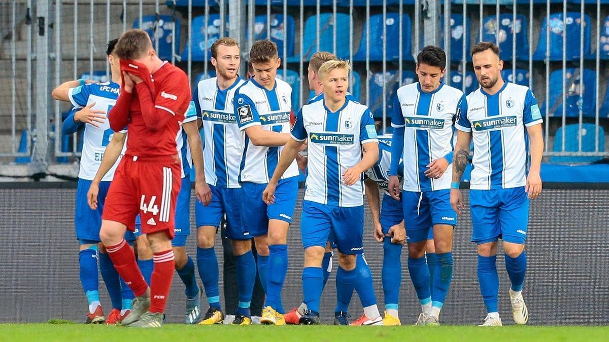 Enttäuschung beim FC Bayern, Jubel bei Magdeburg