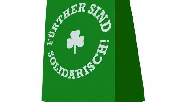 """Das Logo der Initiative """"Fürther sind solidarisch"""""""
