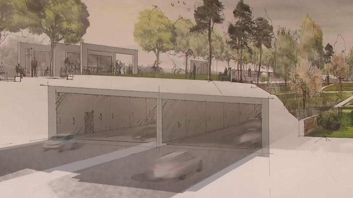 Der geplante Ausbau des Frankenschnellwegs