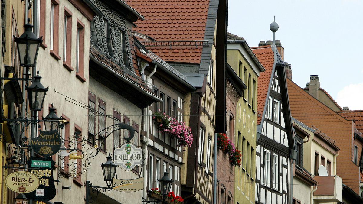 Die Innenstadt von Aschaffenburg