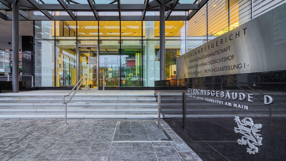 Gebäude des Frankfurter Oberlandesgerichts und der Generalstaatsanwaltschaft