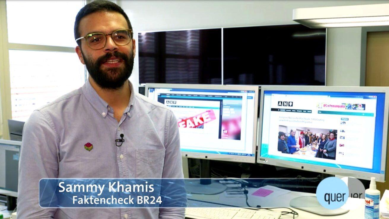 Sammy Khamis vom #Faktenfuchs bei quer