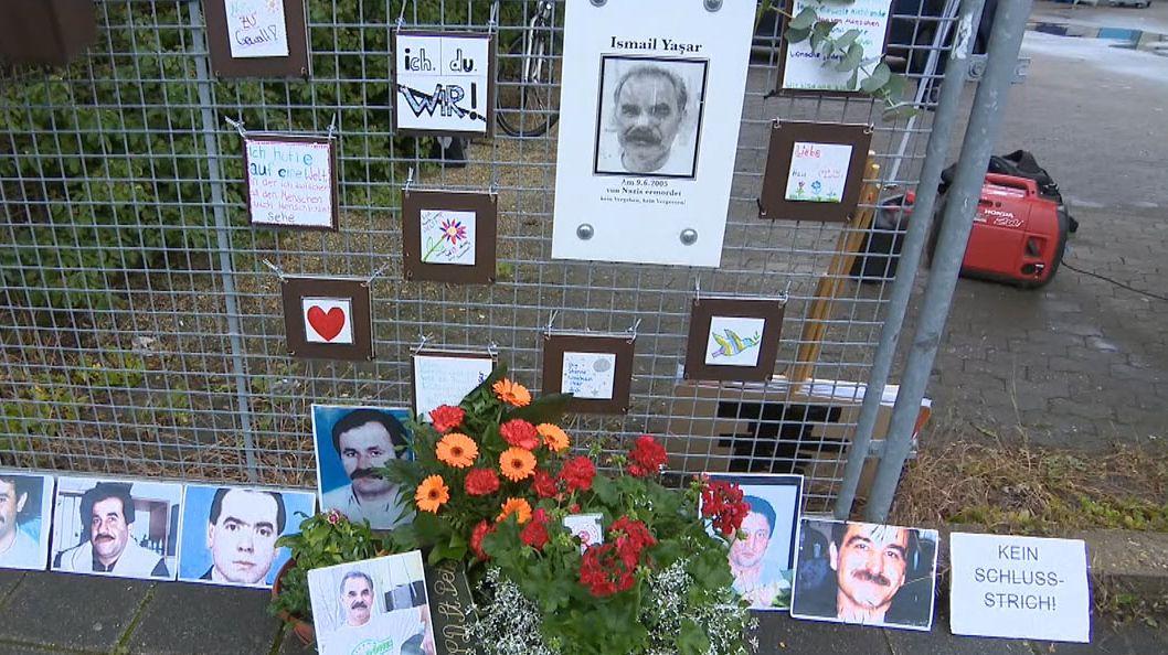 Gedenken am Tatort in Nürnberg