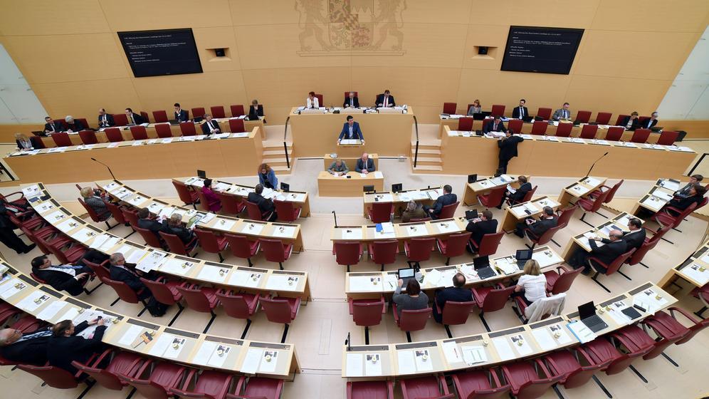 Der Bayerische Landtag | Bild:dpa-Bildfunk/Andreas Gebert