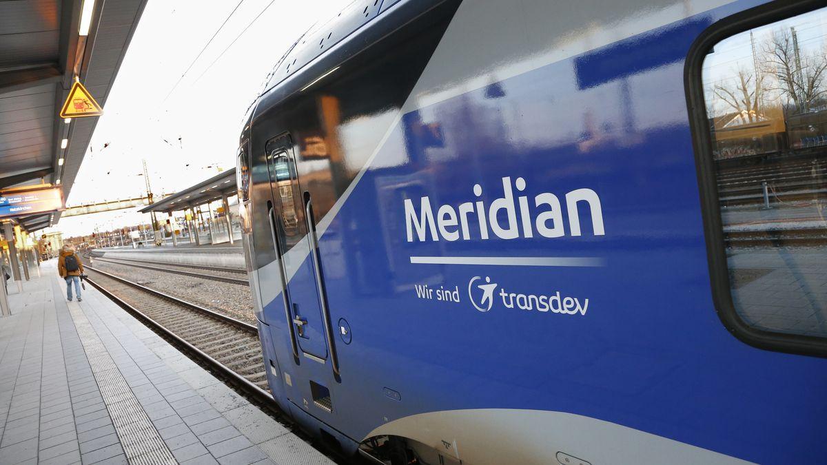 Der Meridian ist ab sofort seltener unterwegs.