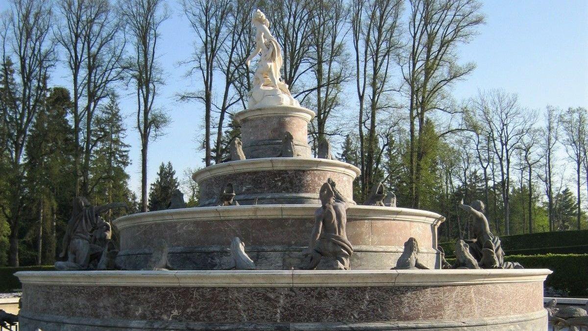 Der Latona Brunnen auf der Herreninsel