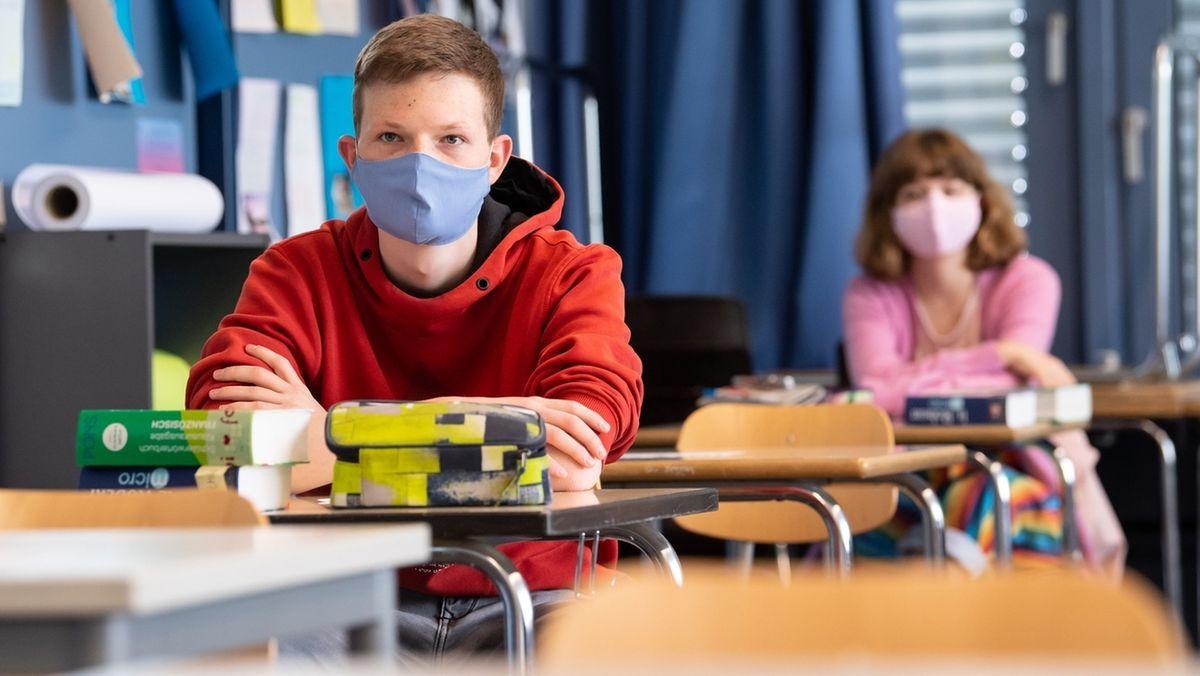 Masken im Unterricht