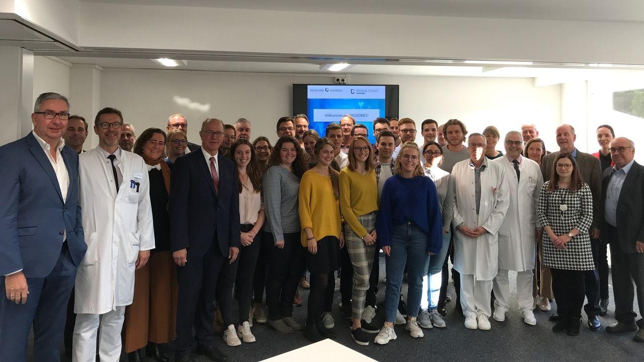 Erste Studierende starten in klinischen Teil bei Regiomed in Coburg