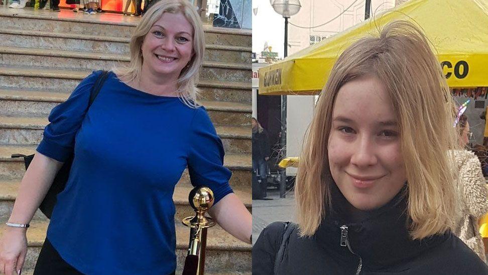 In München vermisst: Mutter Maria Gertsuski und ihre 16 Jahre alte Tochter Tatiana.