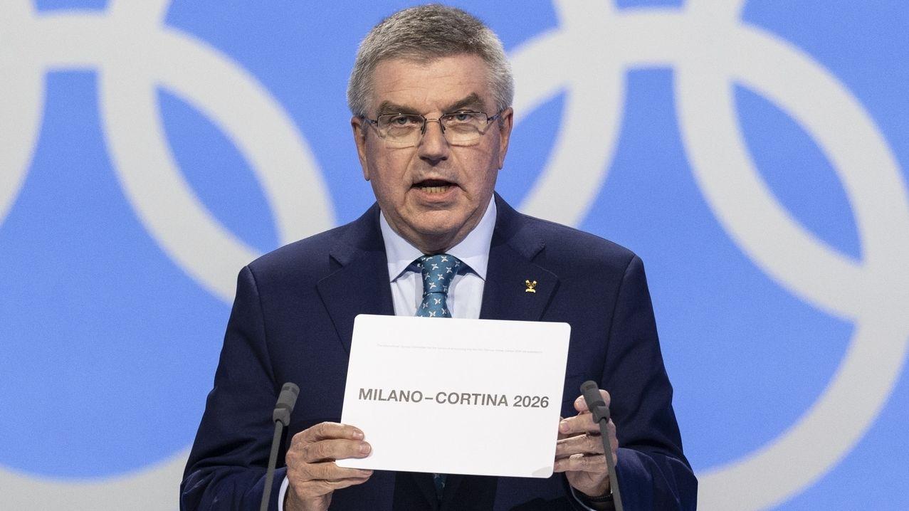 Thomas Bach, Präsident des Internationalen Olympischen Komitees (IOC)