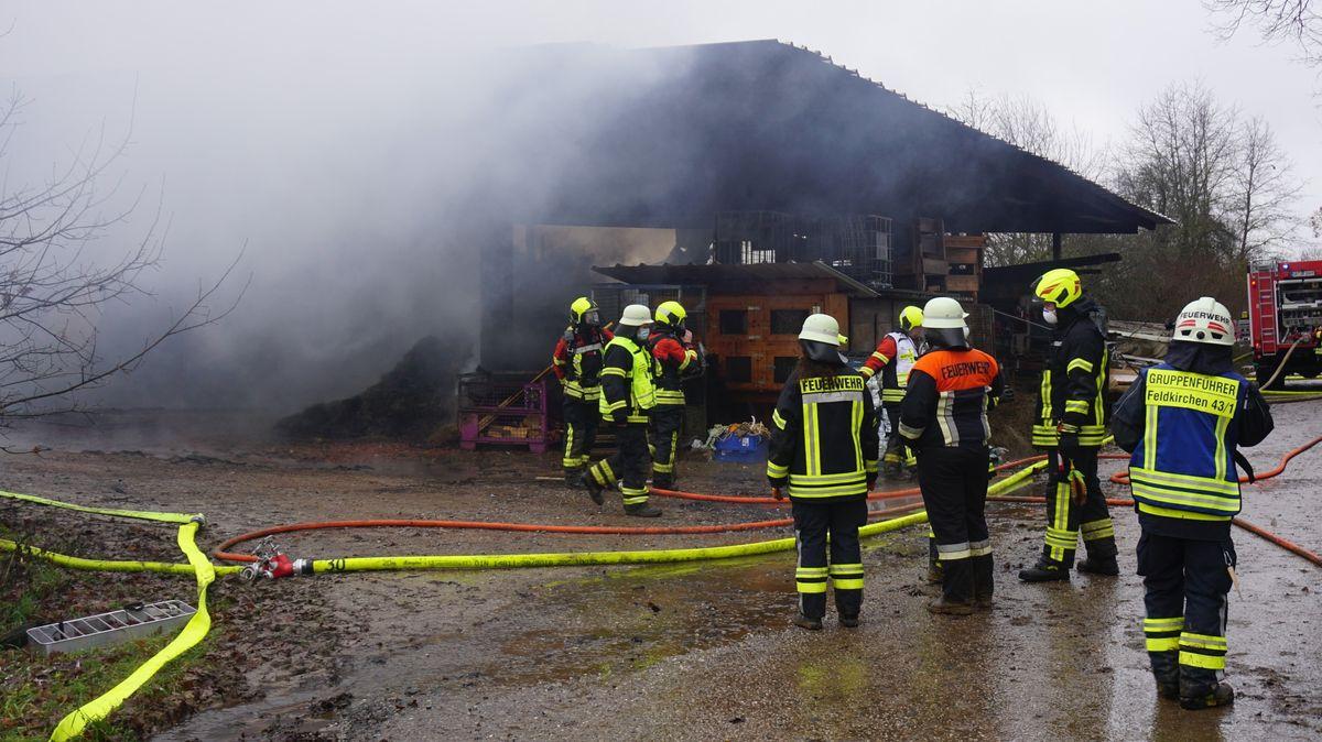 Feuerwehreinsatz bei Metting