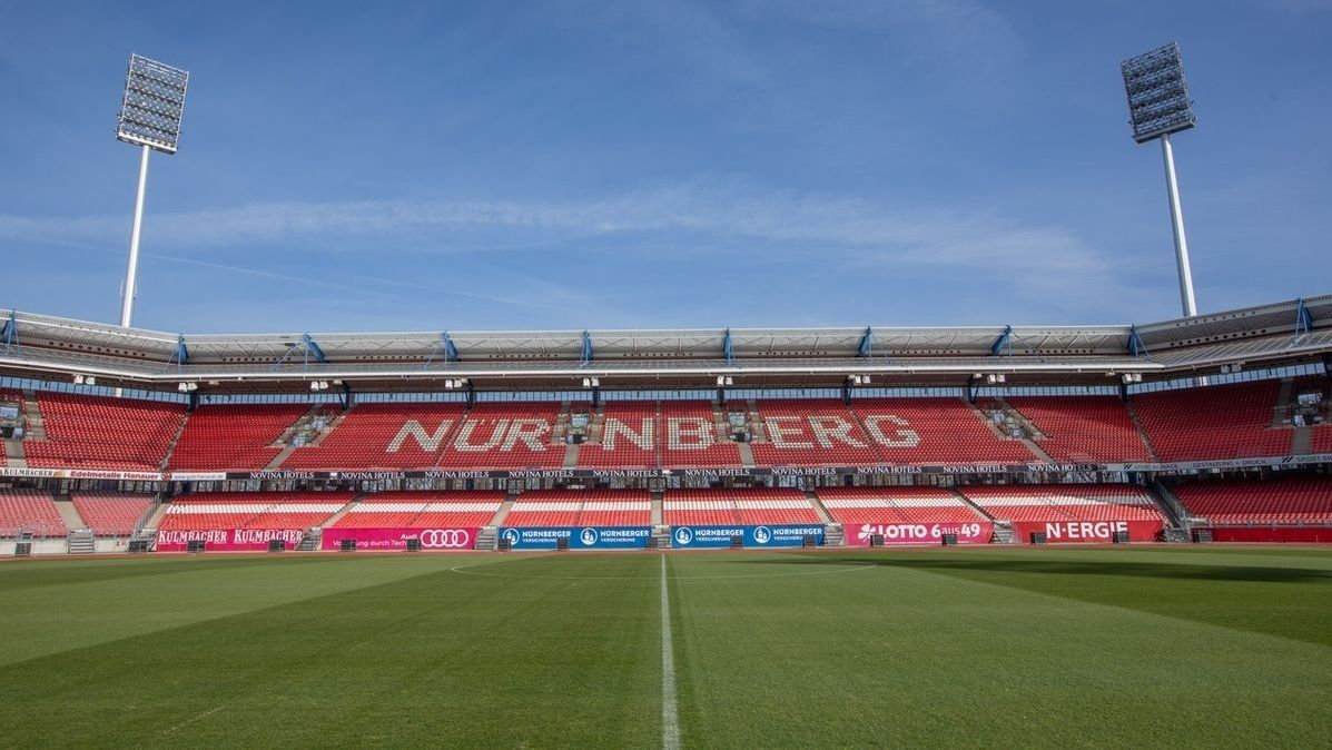Das Max-Morlock-Stadion in Nürnberg