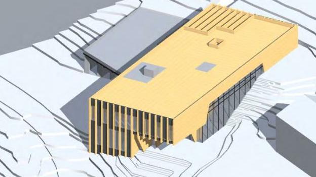 Neubau des Instituts für Bienenkunde und Imkerei