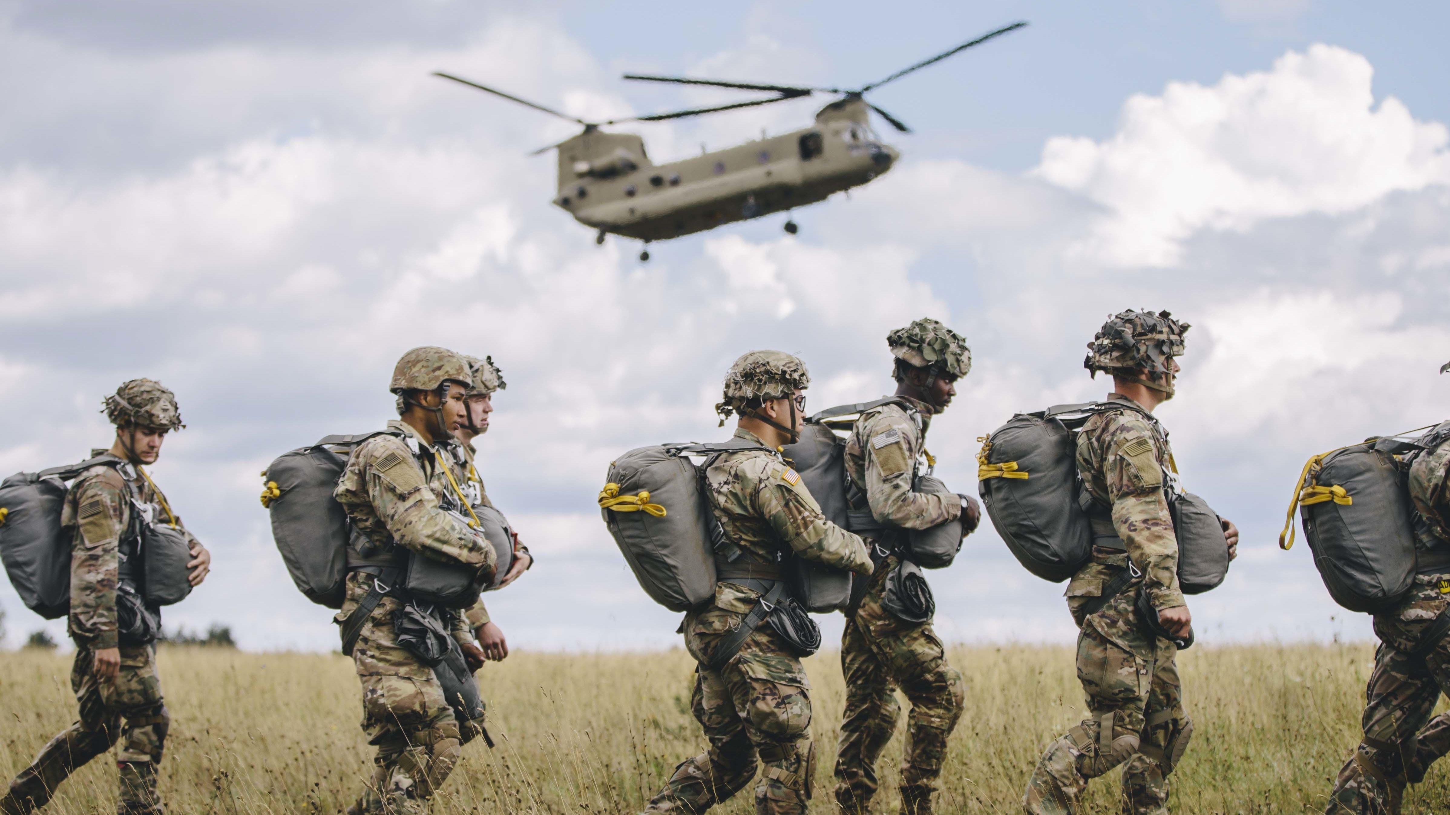 US-Soldaten auf dem Gelände des Truppenübungsplatzes in Grafenwöhr: Am am Wochenende wurden dort die Sicherheitsmaßnahmen verschärft.