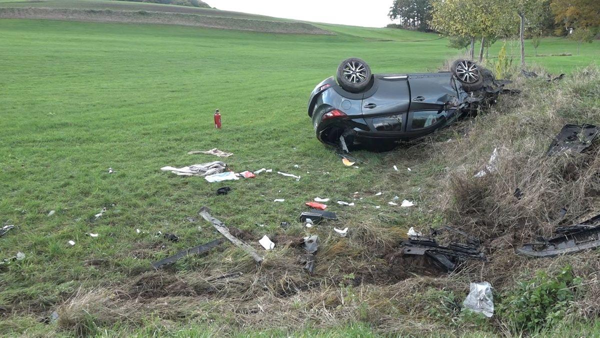 Schwerer Unfall bei Ansbach