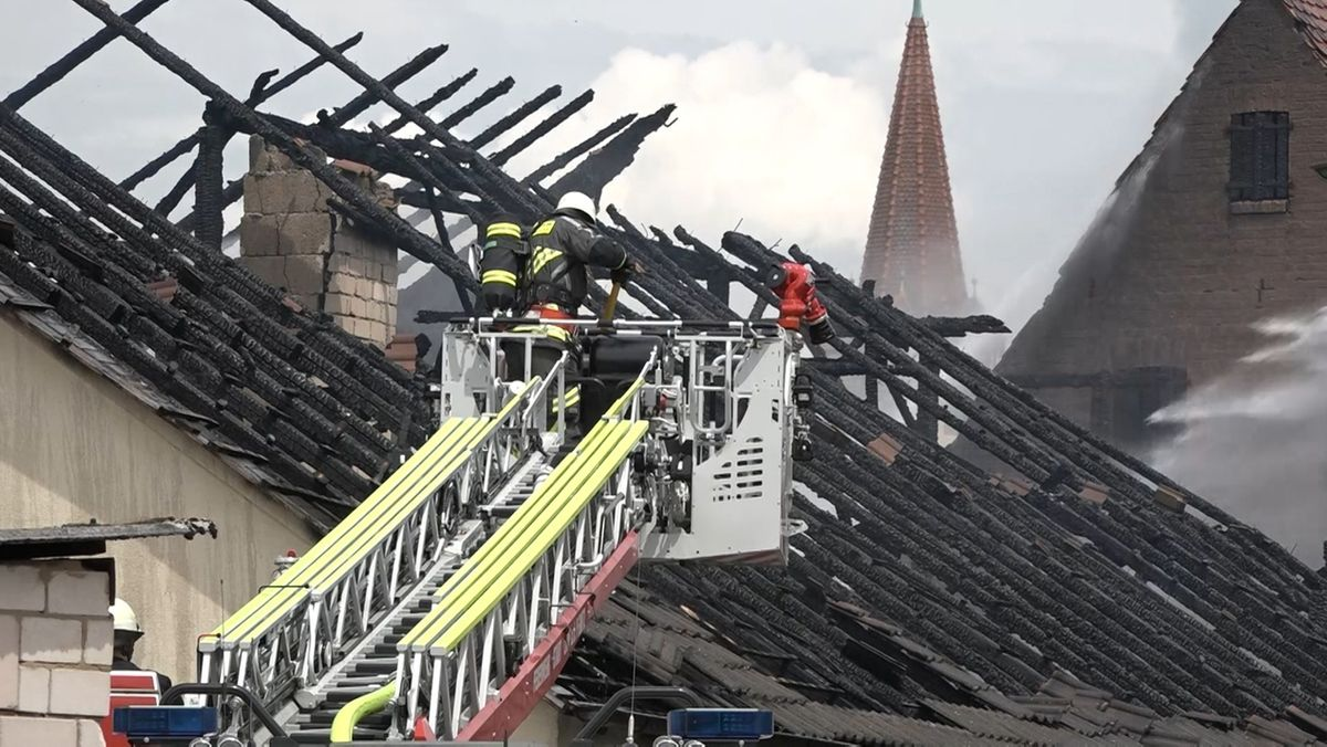 Scheune in Schönberg niedergebrannt