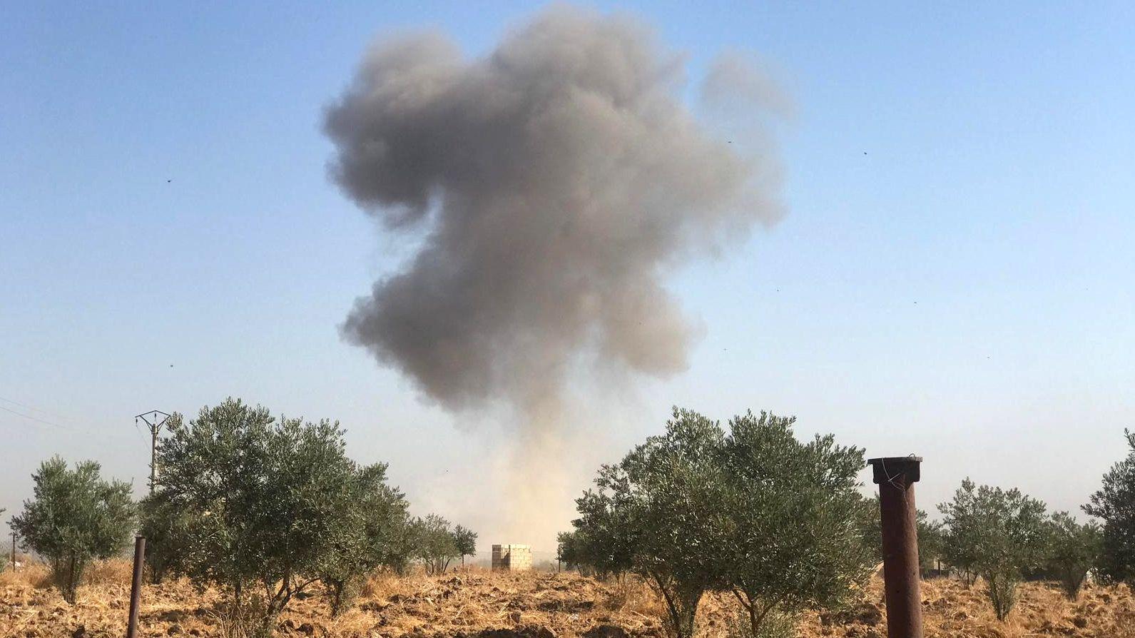 Bodenoffensive der Türken in Nordsyrien