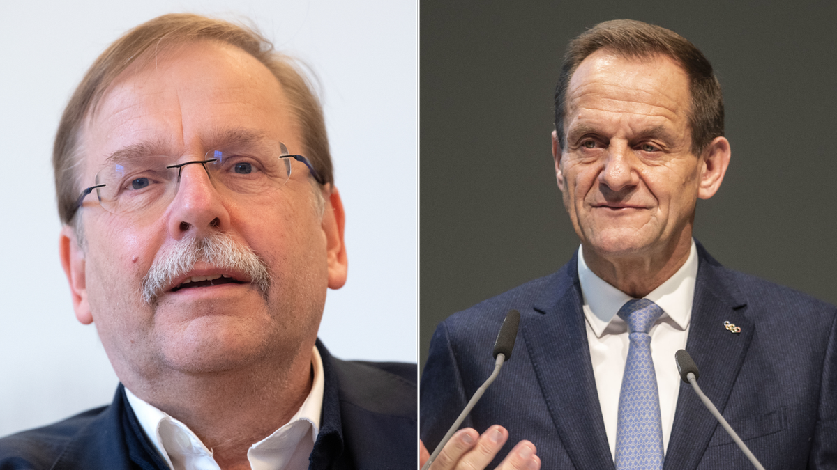 Rainer Koch (links) und Alfons Hörmann