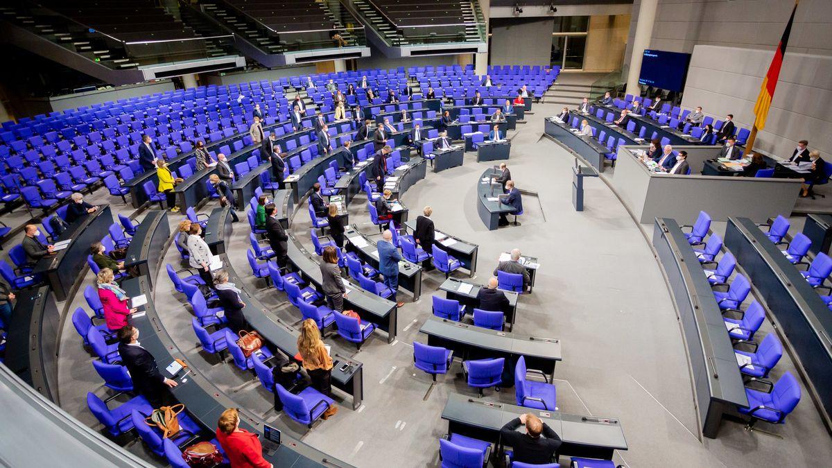 Abgeordnete im Bundestag.