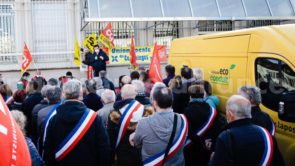 Postmitarbeiter streiken in Frankreich