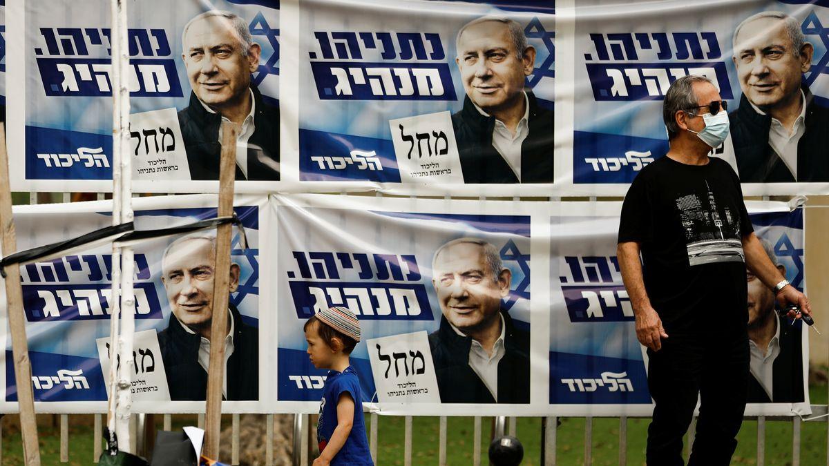 Wahlplakate in Tel Aviv