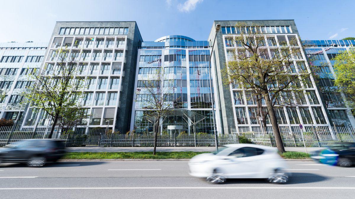 Firmenhauptsitz des Gelddruck - und Chipkartenkonzerns Giesecke & Devrient in München