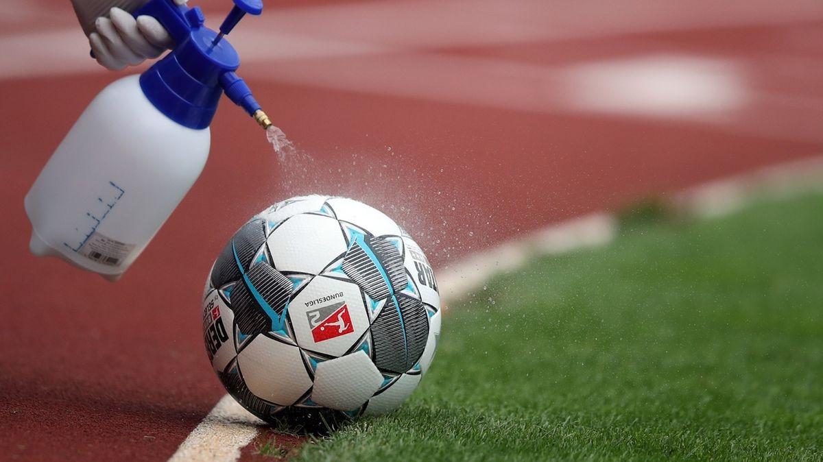 Hygienemaßnahmen im Fußball