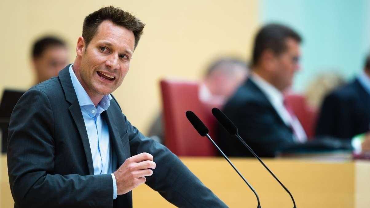 Ludwig Hartmann, Fraktions-Chef der Grünen im Bayerischen Landtag.